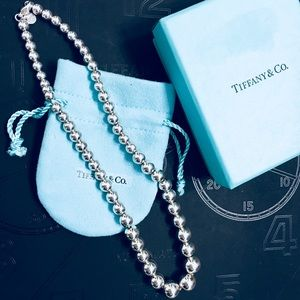 Tiffany Graduated Ball Necklace